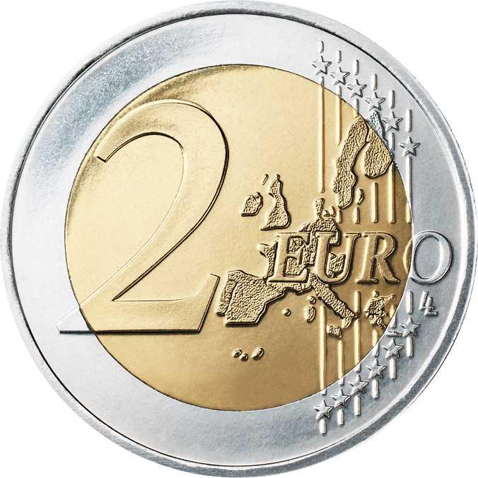 2,- Euro